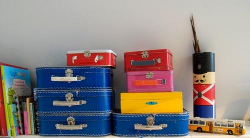 Tinnsoldat og Koffertstabler